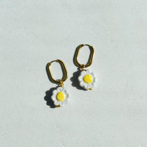 Oopsy Daisy Earrings ($36)