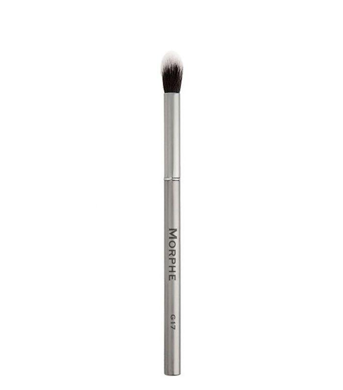 Brown Smokey Eye: Morphe Gunmetal Round Eye Shadow Blender Brush