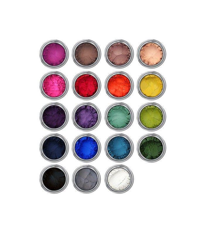 vegan makeup: Concrete Minerals I Want It All Pro Matte Eyeshadows
