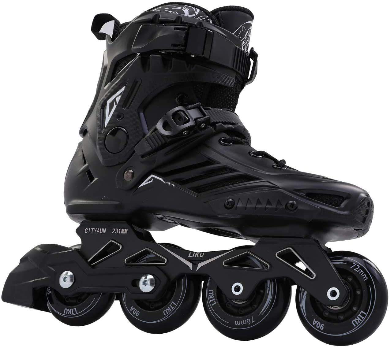 LIKU Black Professional Inline Skate