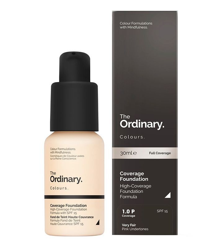 best drugstore foundation for pale skin: The Ordinary Coverage Foundation