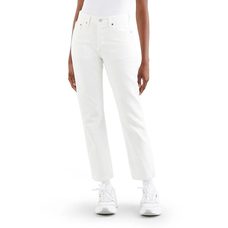 501® High Waist Crop Straight Leg Jeans