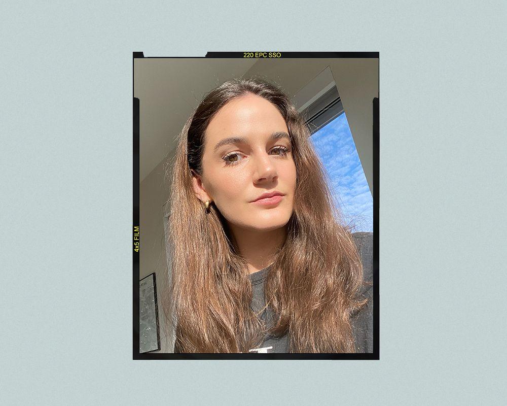 EltaMD UV Clear Broad-Spectrum SPF 46 Facial Sunscreen Results on Kelsey Clark