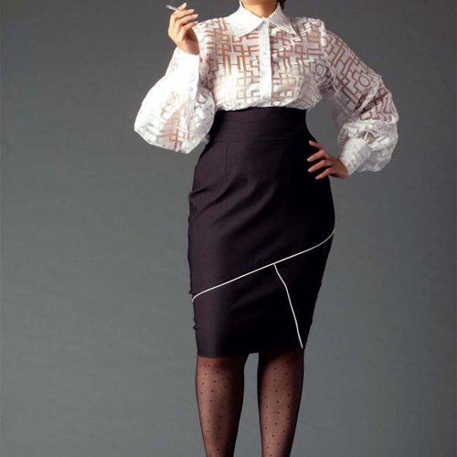 High Waist Pencil Skirt ($150)