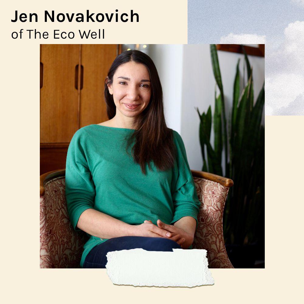 Jen Novakovich the eco well