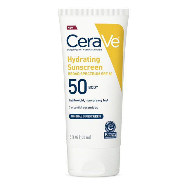cerave hydrating sunscreen for body
