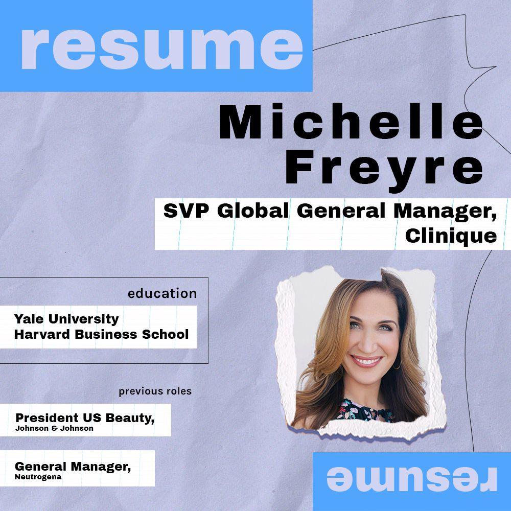 Michelle Freyre Resume Graphic