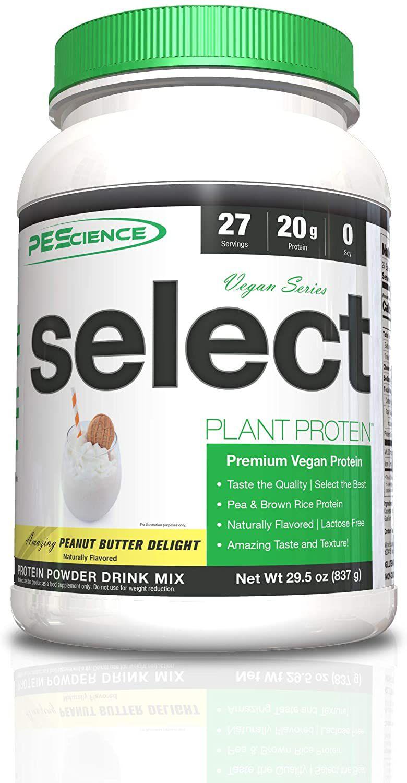 PEScience Select Vegan Protein Chocolate Peanut Butter