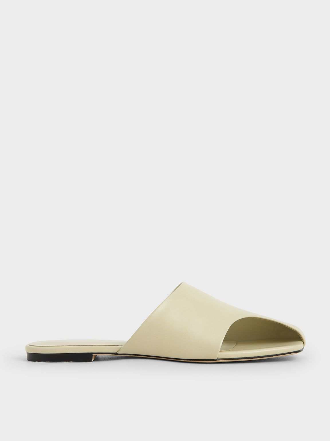 Charles and Keith Cut-Out Slide Sandals