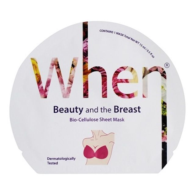 WHEN Beauty and the Breast Mask