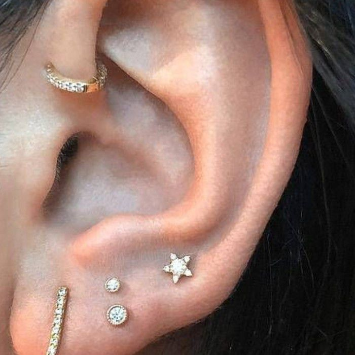 The Best Types Of Ear Piercings See Our Chart For Ideas