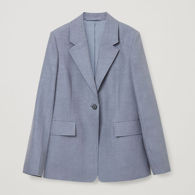 Linen Tailored Blazer