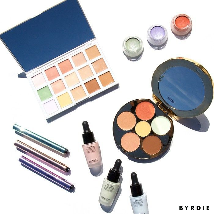 Different types of color correctors