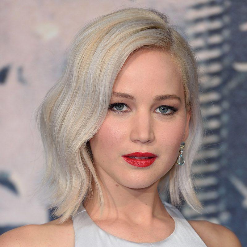 White Blonde Hair Jennifer Lawrence