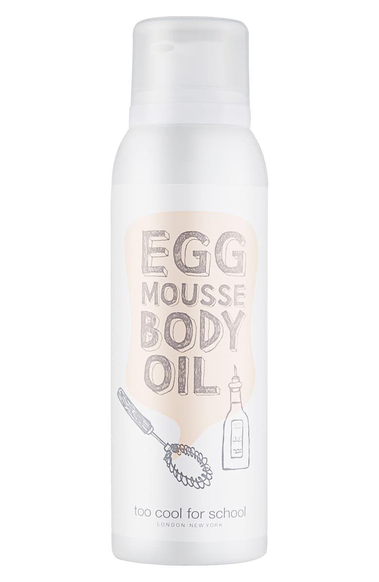 Egg Mousse Body Oil