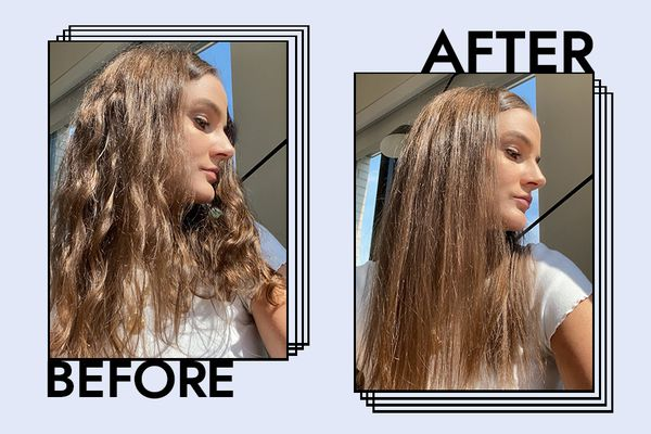 GHD Platinum+ Styler Flat Iron Results on Kelsey Clark