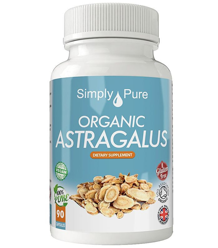 Best adaptogens: Simply Pure Organic Astragalus