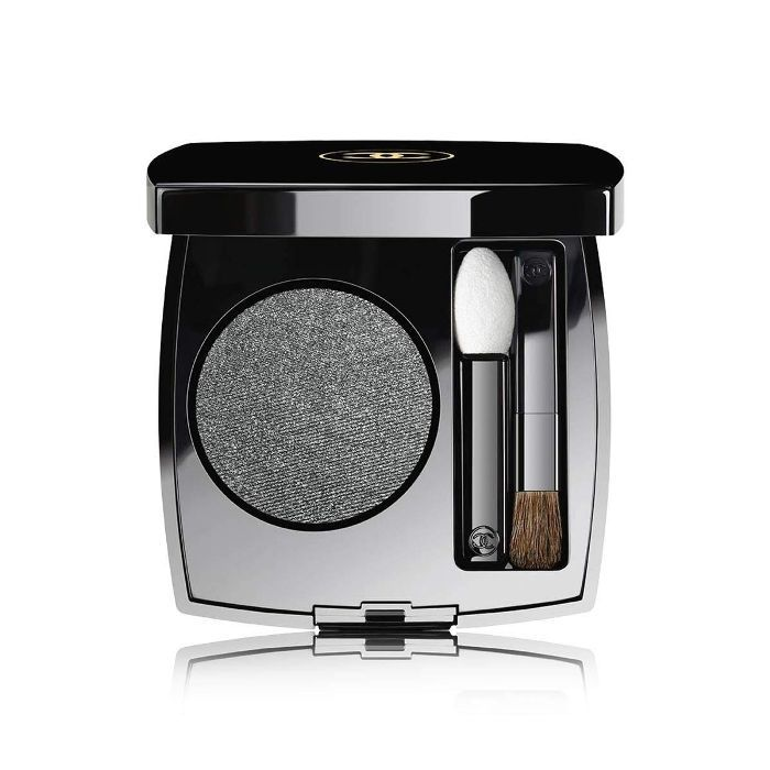 Glossy Eyes How To: CHANEL Ombre Première Longwear Powder Eyeshadow in Gris Anthracite