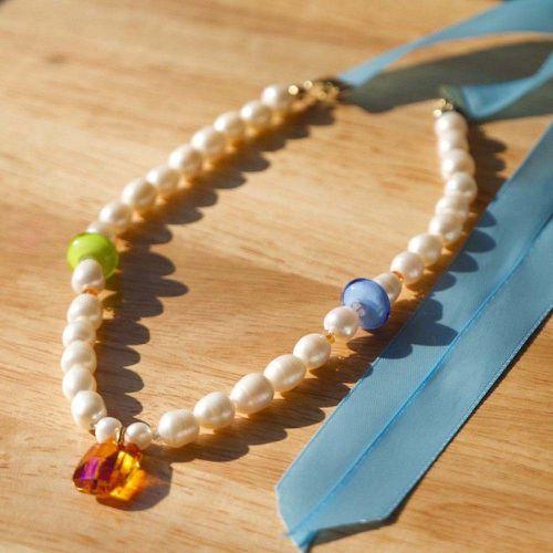 Juno Pearl Necklace ($90)