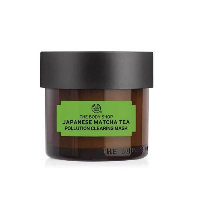 best face mask: The Body Shop Japanese Matcha Tea Pollution Clearing Mask