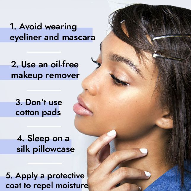 Clean Your Eyelash Extensions