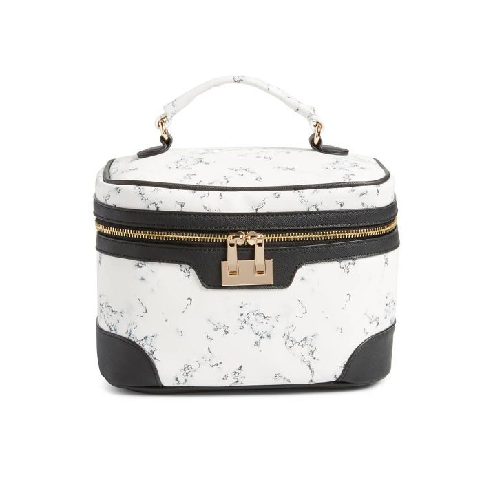 Yoki Bags Marbleized Cosmetics Bag