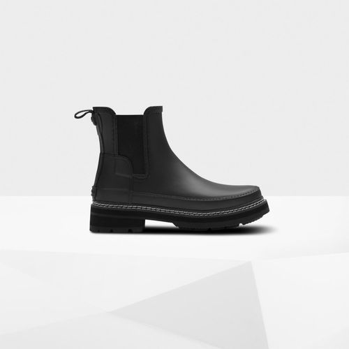 Hunter Refined Stitch Detail Chelsea Boots