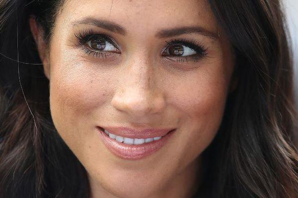 Meghan Markle wearing minimal makeup