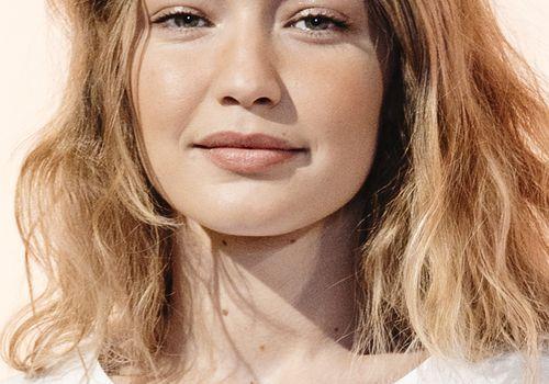 portrait photo of Gigi Hadid
