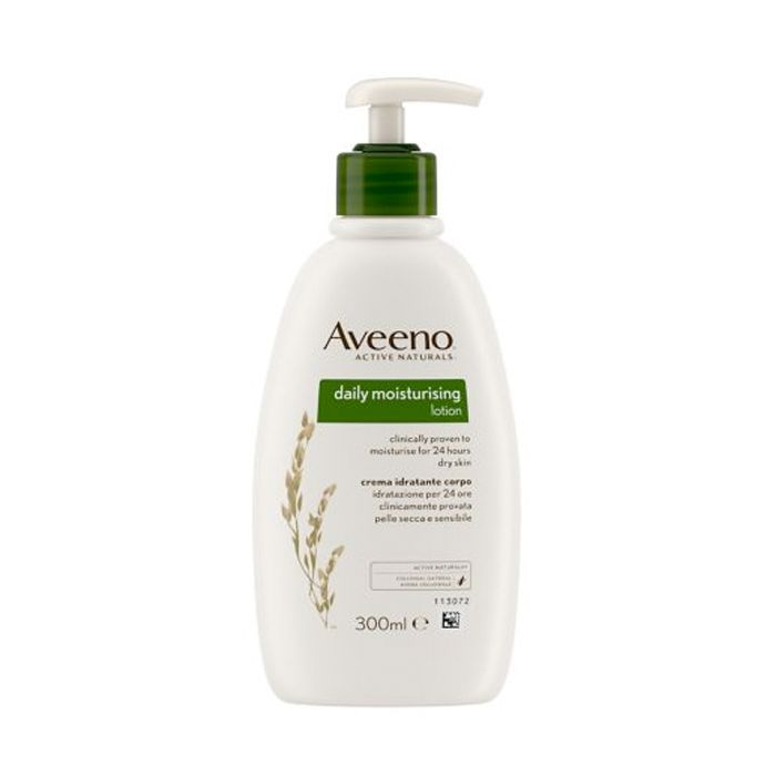 best drugstore beauty products: Aveeno Daily Moisturising Lotion