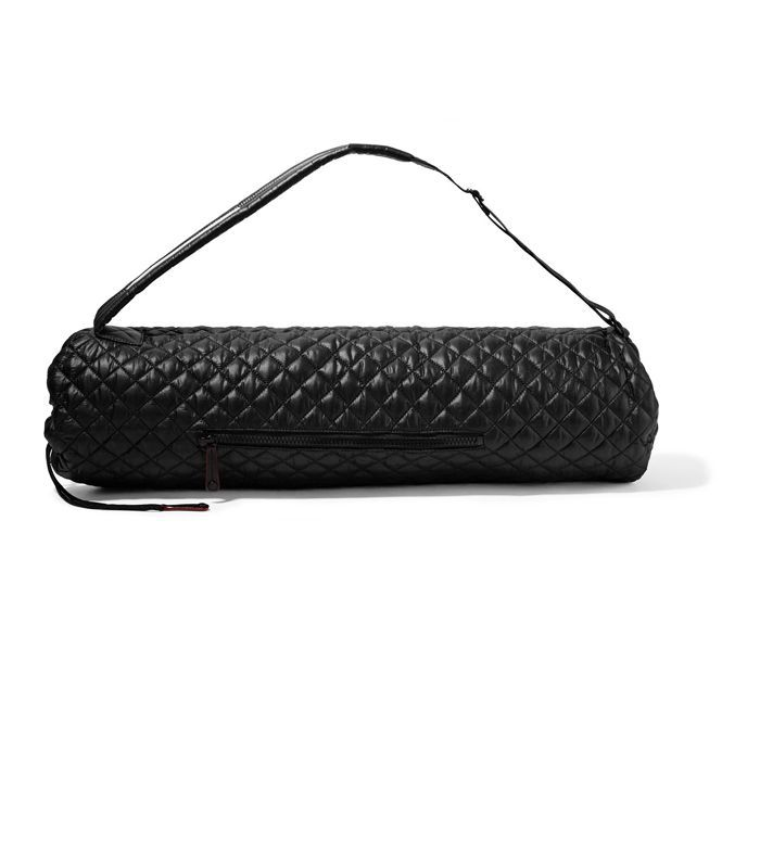 What is yoga: MZ Wallace Metro Matt Quilted Shell Yoga Bag