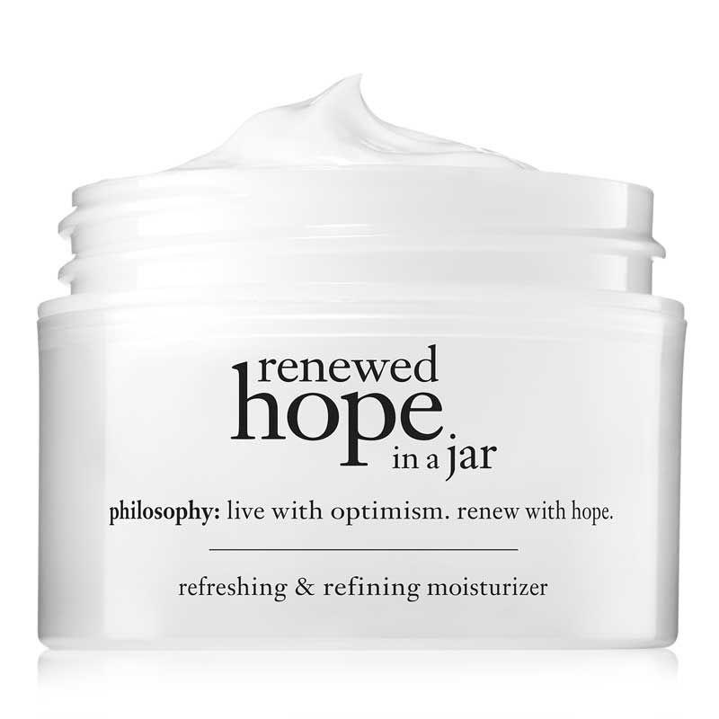 renewed hope in a jar refreshing and refining moisturizer