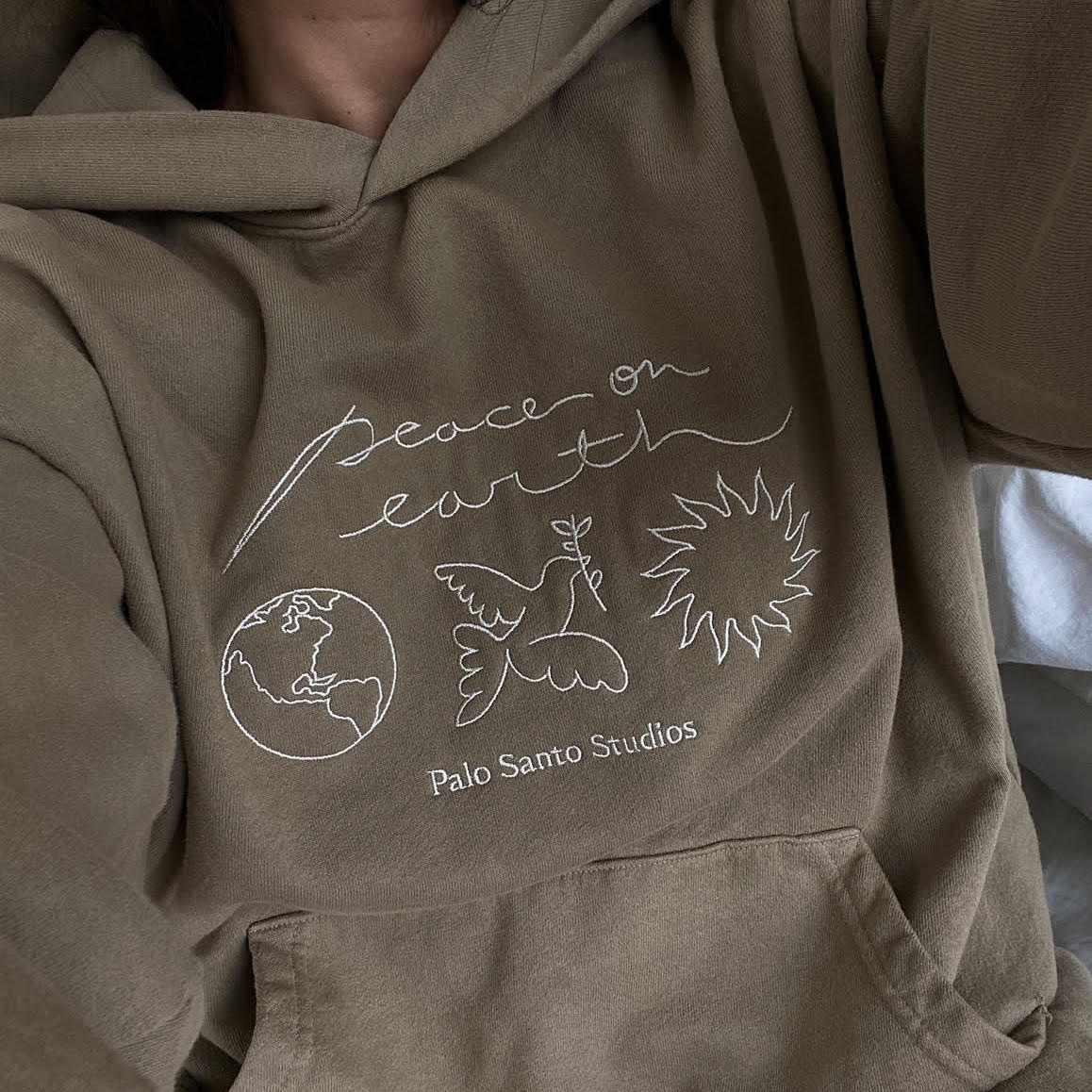 Palo Santo Studios Peace on Earth Sweatshirt