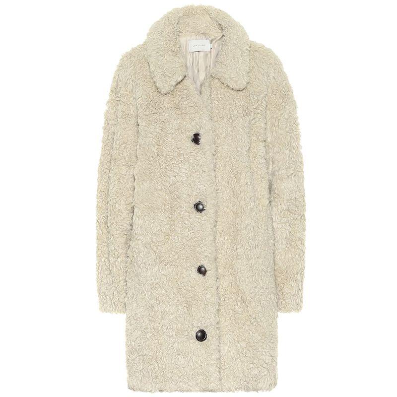 Faux-Shearling Teddy Coat