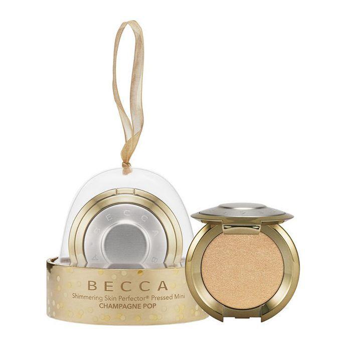 Becca Shimmering Skin Perfector Champagne Pop Mini Ornament