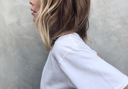 Dirty blonde hair- Annie Bing