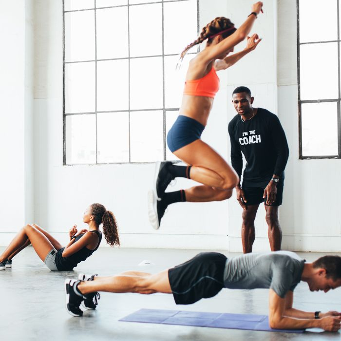 best training shoes: people working out