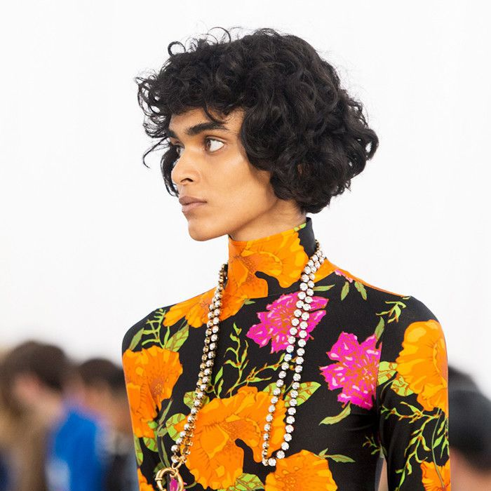 Radhika Nair at Balenciaga during Paris Fashion Week