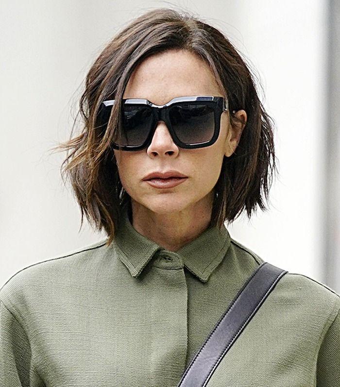 Victoria Beckham textured lob
