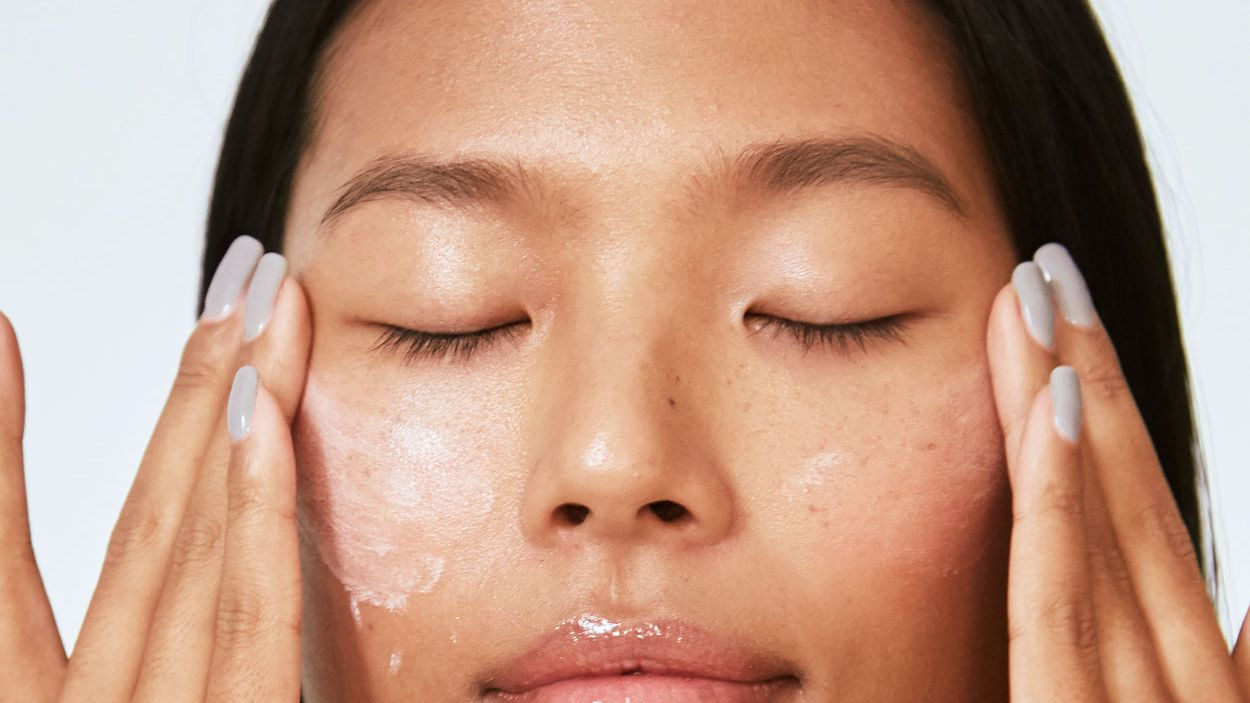 Forehead go away on pimples t won [Acne] Textured