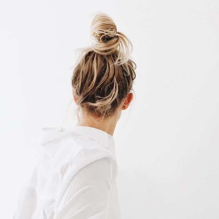 Octopus Buns—Messy Topknot Tutorial