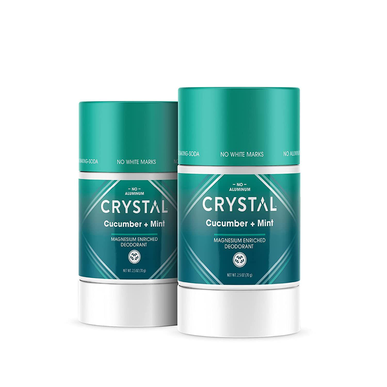 Crystal Cucumber + Mint Magnesium Enriched Deodorant