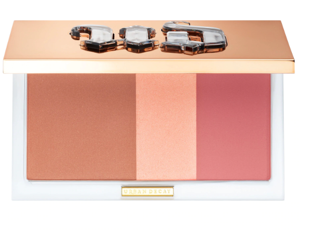 Stay Naked Threesome Blush, Bronzer, & Highlighter Palette