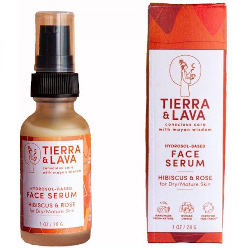 Tierra & Lava Hibiscus & Rose Face Serum