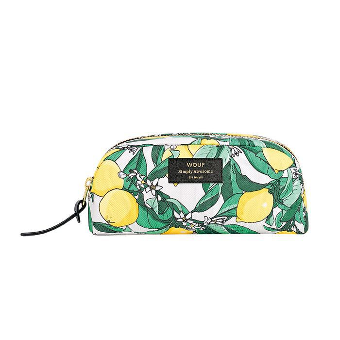 eco products: Wouf Lemon Cosmetic Bag - Small