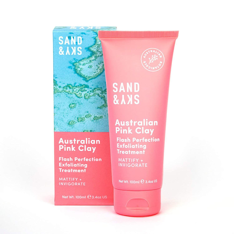 Sand & Sky Australian Pink Clay Flash Perfection Exfoliating Treatment