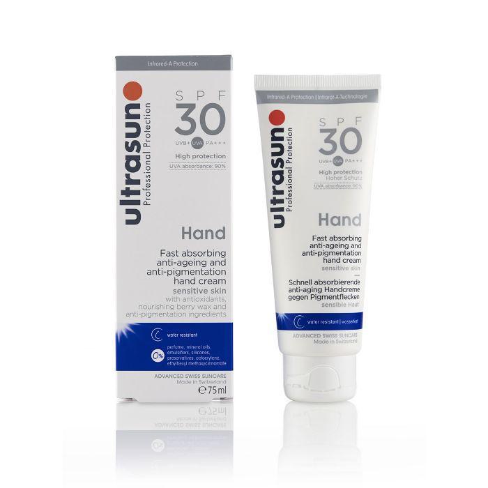 best drugstore sunscreen: Ultrasun Hand SPF 30