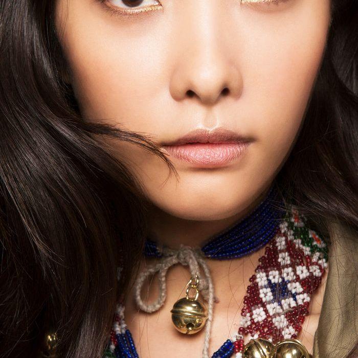 Gold Eyeliner - Simple Eyeliner
