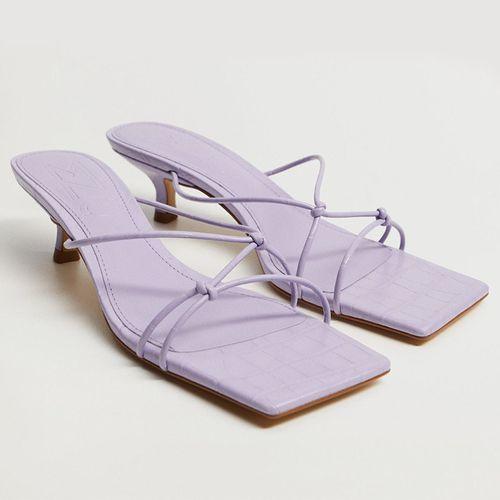 Knots Heel Sandals ($60)