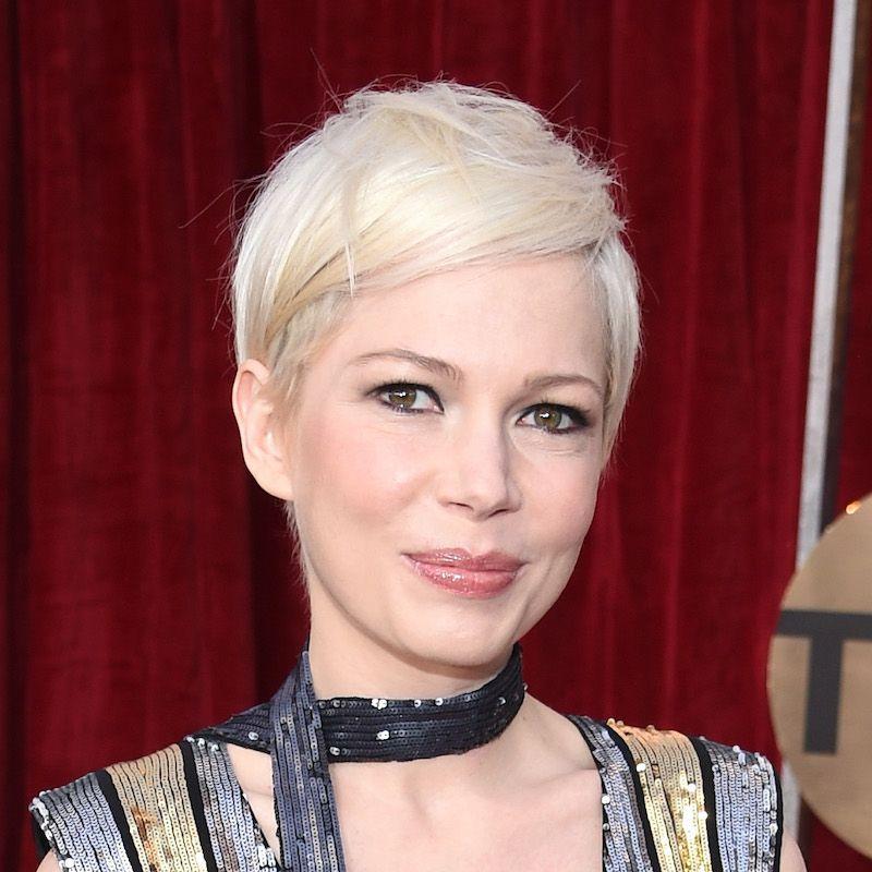 White Blonde Hair Michelle Williams